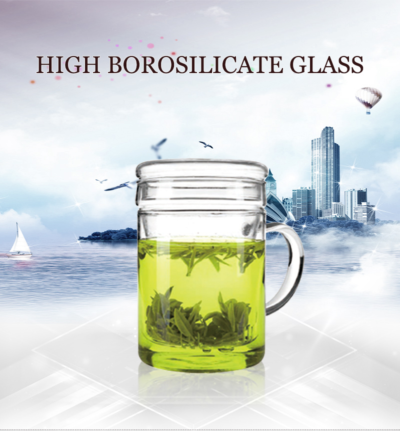 online shopping high borosilicate arabic kitchen tea set for 450ml
