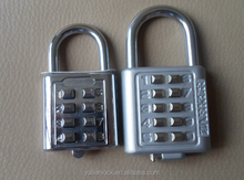 China-made High Quality Durable Zinc Alloy Combination Lock With 8 or 10 passwords numbers