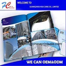 Model / Product/Advertising customized full color printing magazine
