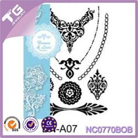 temporary tattoos henna sticker 12 designs sexy products fashion body art fit women dress in party date ball daily life