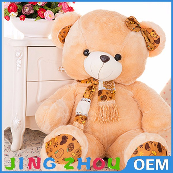 100% PP cotton material craft plush jointed teddy bears, plush teddy bear names, plush bear big