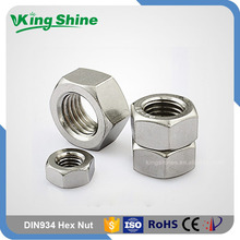 Made In China SS304 SS316 SS316L Hex Nuts And Bolts