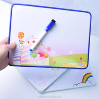 good looking kids erasable magnetic plastic writing board for promotional gift