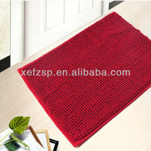 foot cleaning and anti skid microfibre bath mat