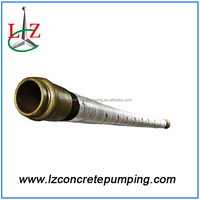 Concrete pump hose concrete end hose pipe DN125 4 layers of wires double head