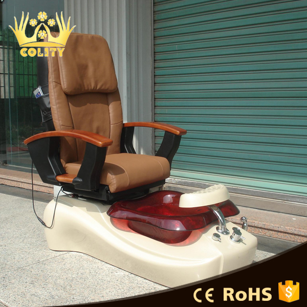 Wholesale pedicure supplies/luxury pedicure spa chair with low price