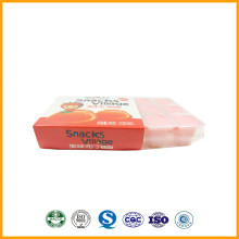 Production Jelly Fruit Shape Korean Snacks A Square Jelly Cup