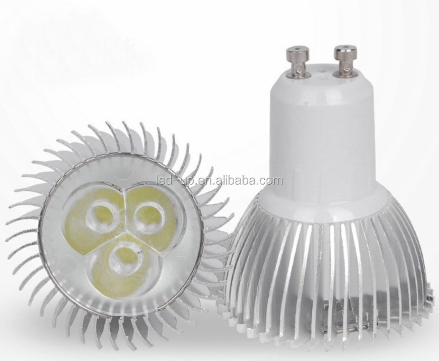 Base GU 10 3W <strong>Led</strong> <strong>lighting</strong> <strong>bulb</strong> Epistar <strong>LEDs</strong>