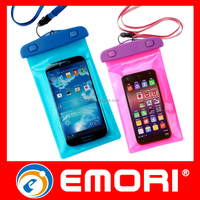 Gift 100% seal transparent waterproof smartphone bag waterproof pouch