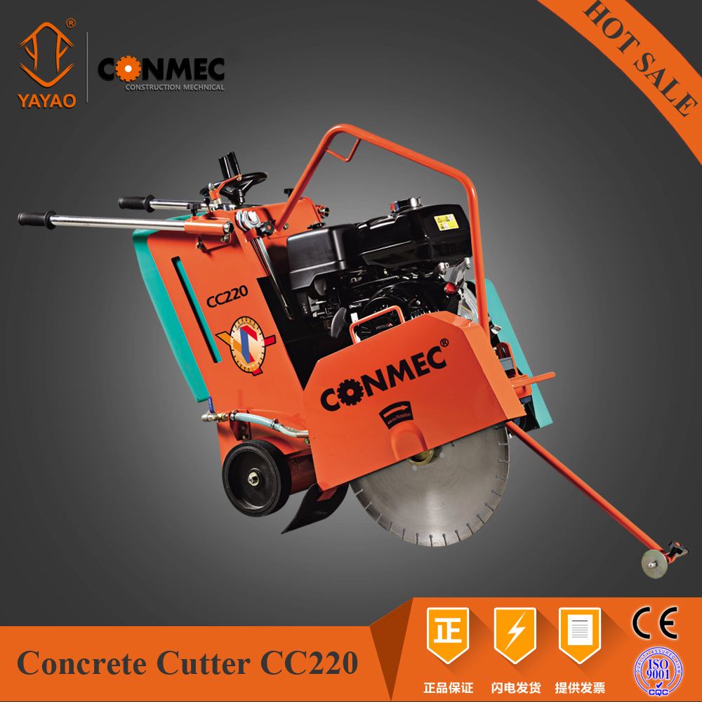 Floor Saw Road Cutter(CE) with Gasoline Honda Engine