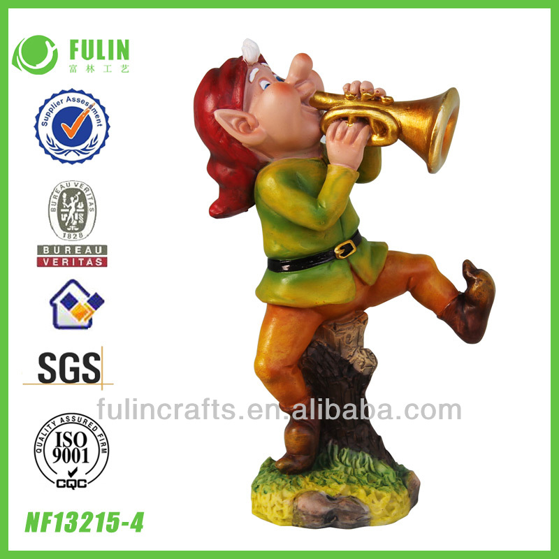 Wholesale Crafts Polyresin Gnome Cartoons