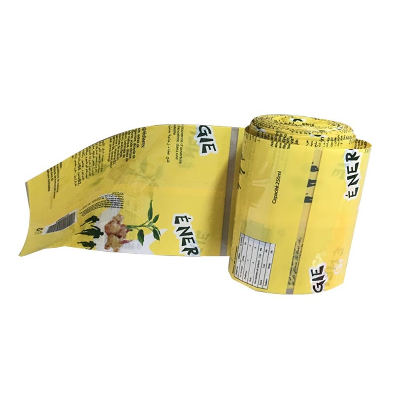 Wholesale Label Printing Pvc Shrink Wrap Plastic Drink Bottle Labels