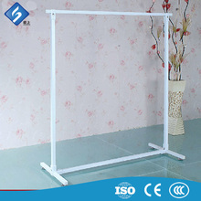 Modern Metal Square Tube Clothing display Shelf for Shops