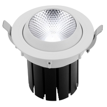 15D 25D 45D retractable ceiling light fixtures wholesale CE RoHS approved embeded spot down light led adjustable non-glare 4.7''