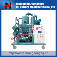 Oil Purification Plant ,Oil Processing Flushing Equipment for 20MW to 50MW Transformer