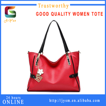 Classic Red Popular Women Famous Bags Handbags Cheap Manufacture Personality Handmade Casual Large Tote Shoulder Strap Bag