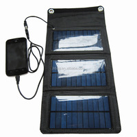 5w foldable solar panel kit for camping hiking traveling
