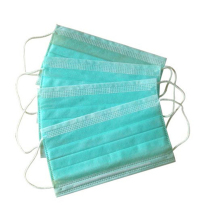 China high quality disposable non woven medical mask with CE FDA certification