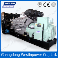 Best quality low emissions trustworthy used marine generators for sale