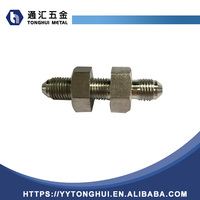Jic Male 74deg Bulkhead hydraulic Adaptor Hydraulic Fitting