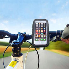 Waterproof 5.5 inch Universal Bicycle Bike Motorcycle Handlebar Phone Mount Holder Case For Samsung Note 1 2 3 S5