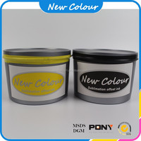 High gloss and dry fast offset printing ink for sublimation transfer