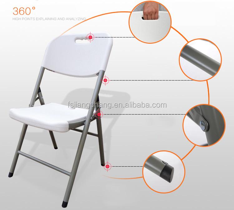 En gros En Plastique En Plein Air Chaise Pliante