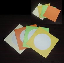 China supply good quality color paper cd sleeves,cd bag