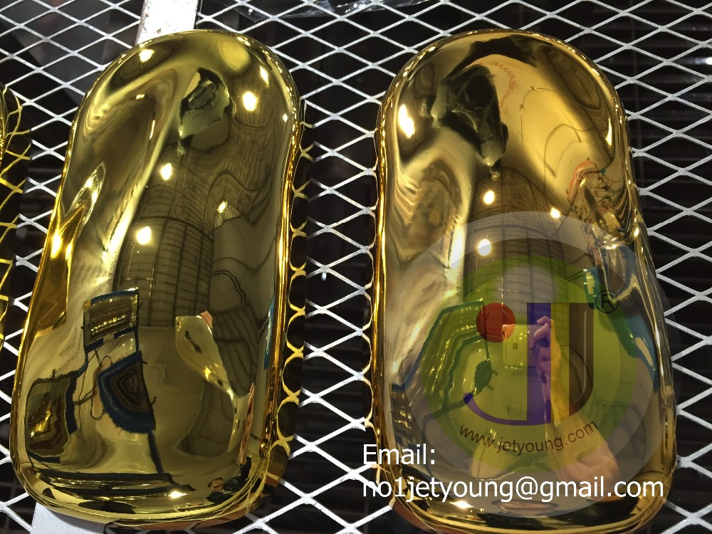 Jetyoung Gold plating chemical-spray chrome gold color chrome spray paint gold and silver chemial for different matel
