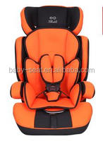 new arrival baby car seat with adjustable headrest for group1+2+3