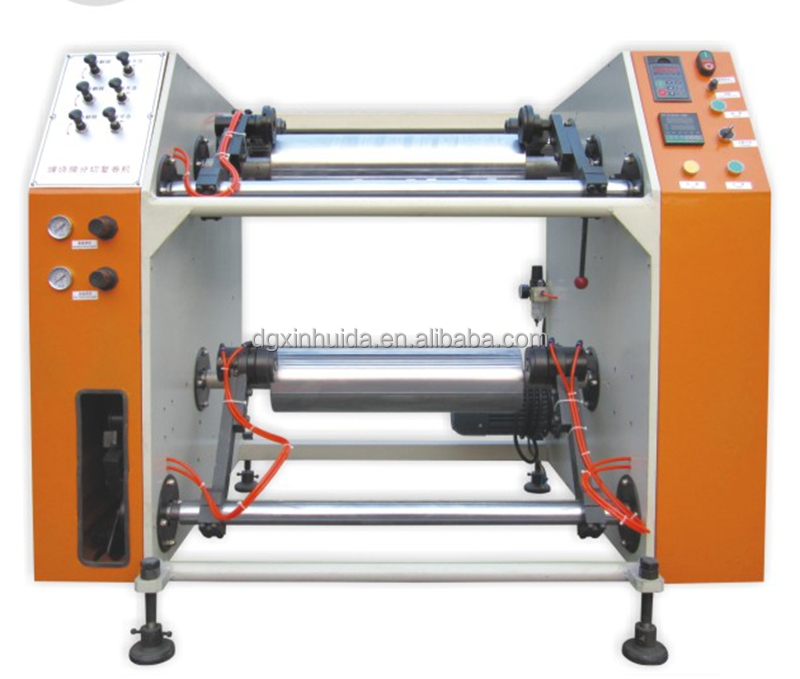 stretch film roll slitter rewinder machinery line