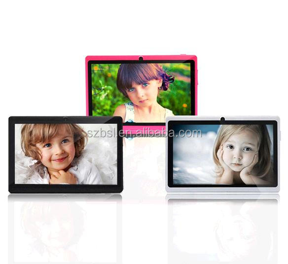 High quality Cheapest Children 7 inch android tablet free shipping iRULU eXpro 1 X1 8GB Android Tablet