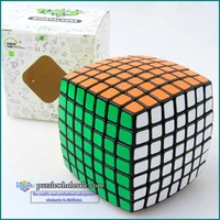 Wholesale Lanlan 7x7x7 Puzzle Cube Magic Black 7x7 Speed Cube Plastic Educational Toys