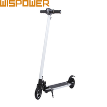 24V 250W white electric scooter 8kg weight only