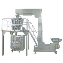 full automatic vertical form fill seal pillow bag packaging machine for chocolate wafer biscuit