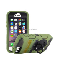 Shockproof waterproof three-proofs PC silicone mobile phone case cover for Iphone 5s CO-MIX-9059