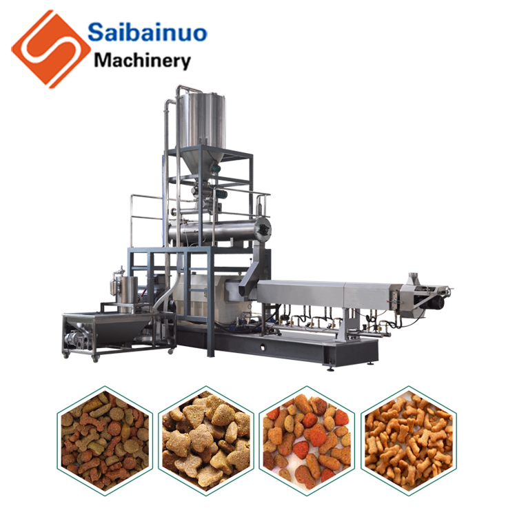 Professional FCPM Series pet food pellet machine DAF dissolved air flotation for foods water treatment wholesale