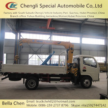 Diesel auto crane, CLW/XCMG/SANY small construction crane truck, China top 10 crane manufacturers