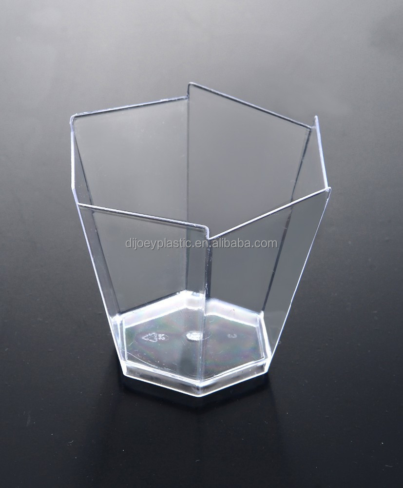 Disposable Small Hexagon Cup