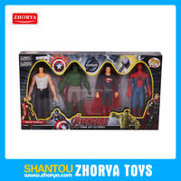 Popular sell top quality avenger 4 style figures cartoon big hero 6-7 inch action figures nice avenger action figure toys