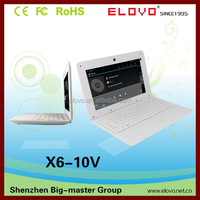 Chinese characteristic laptop10.1 inch Android 4.1 VIA8850 with usb interface factory price
