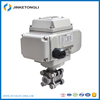 light weight low price Electric control ball valve