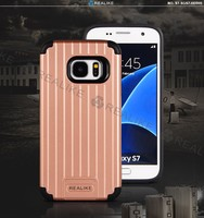 Mix color soft tpu strong pc case for Samsung galaxy s7