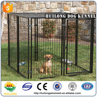 10x10x6 foot classic galvanized pvc outdoor dog kennel factory direct