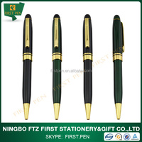 best selling good design brass pens for promotion