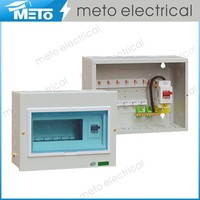 100A 6 way outdoor residential power distribution box/circuit breaker box/power distribution board