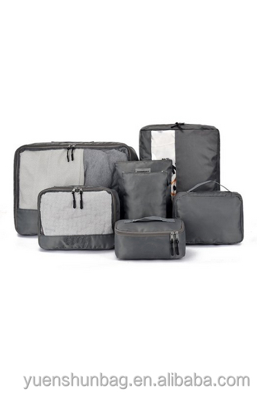 7 Set Packing Cubes - Travel Organizers with Laundry Bag Traveling Pack