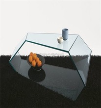 Transaprent Acrylic Polygonal Table for Home Furniture