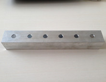 6061 perforated aluminum alloy square tube for industrial project
