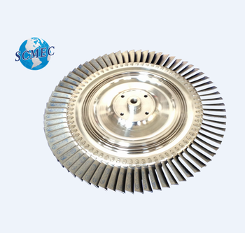 super alloy forged turbine disc/ wheel assembly